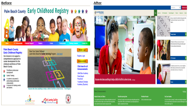Welcome to Your New Training Registry Website!